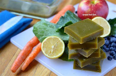 Geletin Detox by Green Juice Detox Paleo Gelatin Gummies Low Carb Gluten