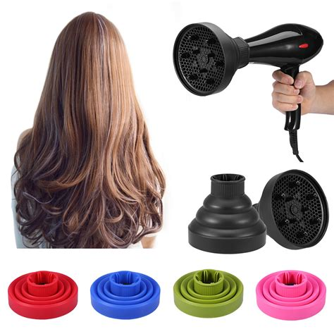 Folding Hair Dryer Diffuser silicone folding hairdryer diffuser hair dryer blower