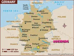 Augsburg Germany Map by Augsburg Germany 2007