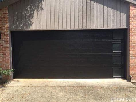 garage doors black new install clopay modern black garage door with vertical