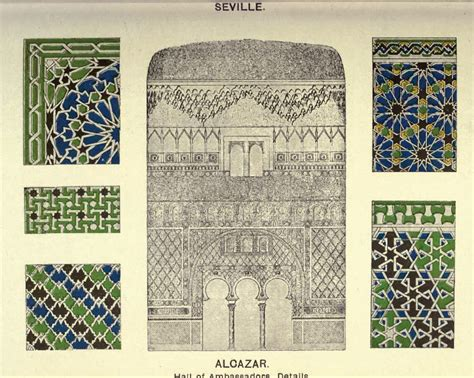 moorish design surface fragments islamic pattern designs