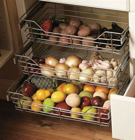 How To Store Potatoes And Onions In Pantry by Storage Ideas To Keep Fruits And Vegetables Fresh Home