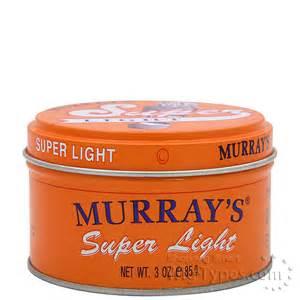 Pomade Murray S Light murrays light pomade 3oz wigtypes