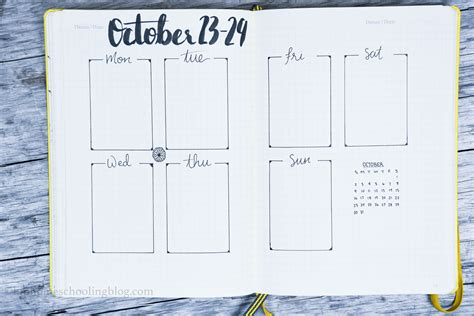 layout bullet journal bullet journal weekly layout ideas