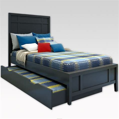 twin xl trundle bed furniture gt bedroom furniture gt bed gt black trundle bed