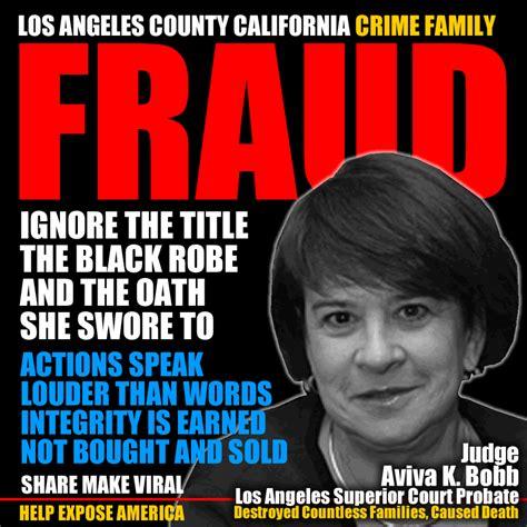 Los Angeles County Probate Search Aviva K Bobb