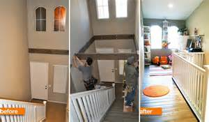 what to do with the space above your kitchen cabinets insanely clever use of a dead space above a staircase amazing diy interior home design