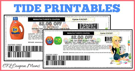 printable tide coupons november 2017 hot tide printables cfl coupon moms