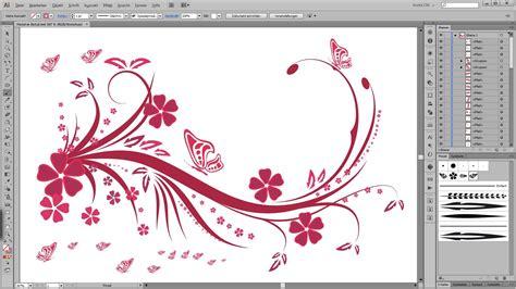 tutorial ornament illustrator illustrator tutorial floral swirl ornaments butterfly