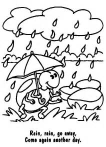 rainy day coloring pages free coloring pages of drawing rainy day