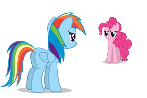 Is Mad At by Rainbow Dash Is Mad At Pinkie Pie By Imtooyoungtobehere On