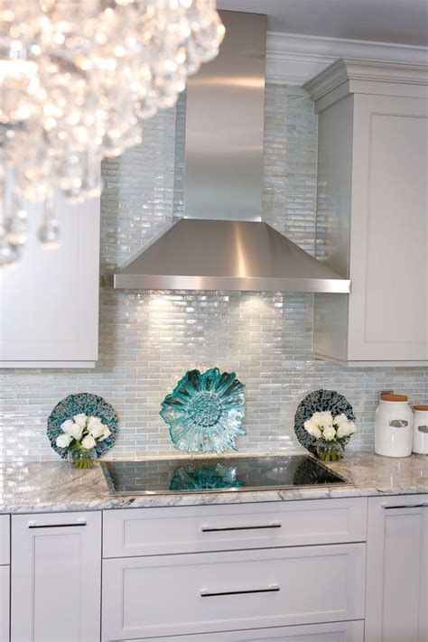 mirror tile backsplash kitchen top 25 best glass tiles ideas on pinterest