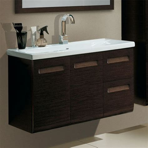 integral ng1 wall mounted single sink bathroom vanity set