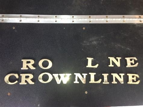 crownline boat lettering find gold crownline letters motorcycle in magnolia texas