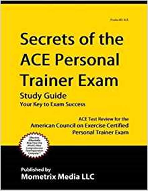 ace personal trainer study guide 2018 prep and practice questions for the american council on exercise cpt books secrets of the ace personal trainer study guide ace