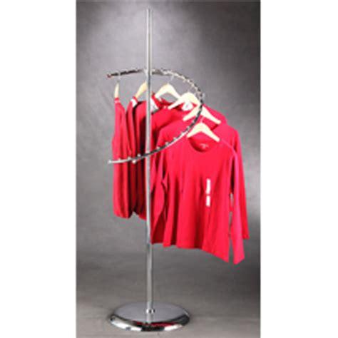 Spiral Rack Display by Spiral Clothes Hanger Garment Store Display 29 Rack