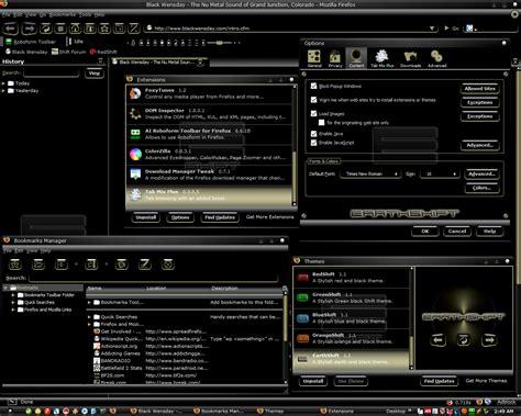 firefox themes redshift 43 stunning firefox themes from deviantart designbeep