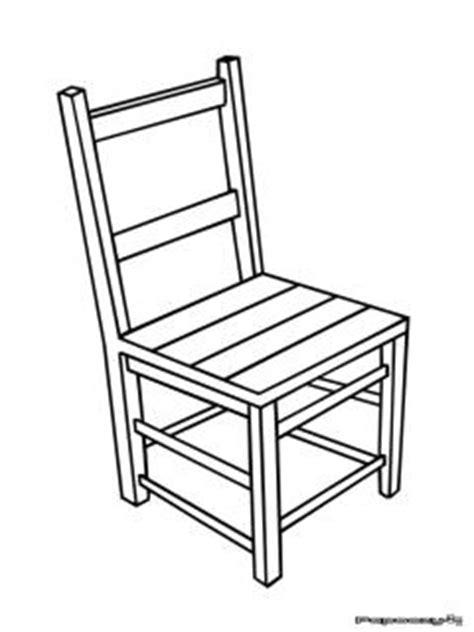 dessin de chaise chaise dessin
