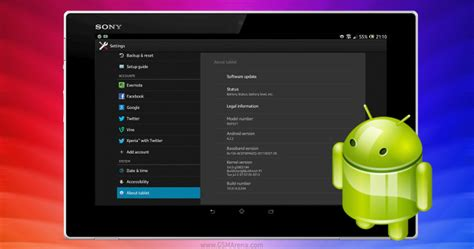 android 4 2 jelly bean sony xperia tablet z gets android 4 2 2 jelly bean refreshed ui