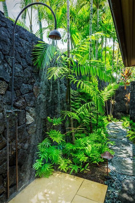 outdoor shower gardens in hawaii hawaii - Hawaii Outdoor Shower