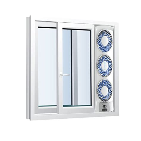 window fan bionaire bwf0502m wm thin window fan white ebay