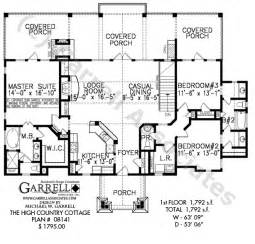 Country Cottage Floor Plans by High Country Cottage House Plan Active House Plans