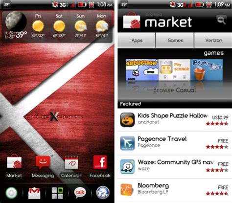 themes for yuphoria android prodx red theme for droid x the android soul
