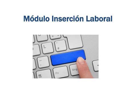 insercion laboral modulo insercion laboral 1