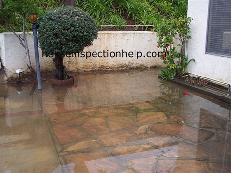 patio drainage solutions patio drainage problem