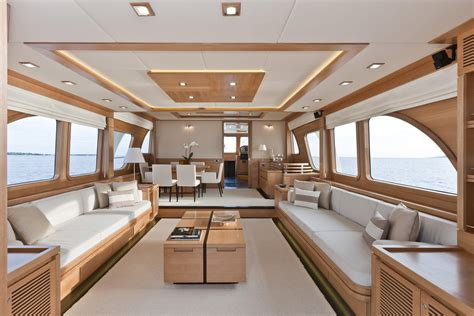 house boat interiors vicem 78 cruiser interior yacht charter superyacht news