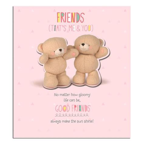 Good Gift Cards For Friends - good friends thank you forever friends card forever friends official store