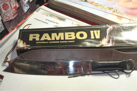 Pisau Rimba knife pisau parang rambo 4 silver edition