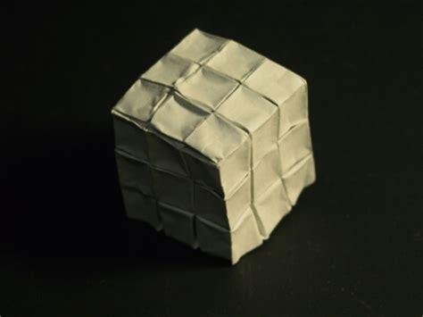 Origami Rubik Cube - the origami forum view topic rubiks cube