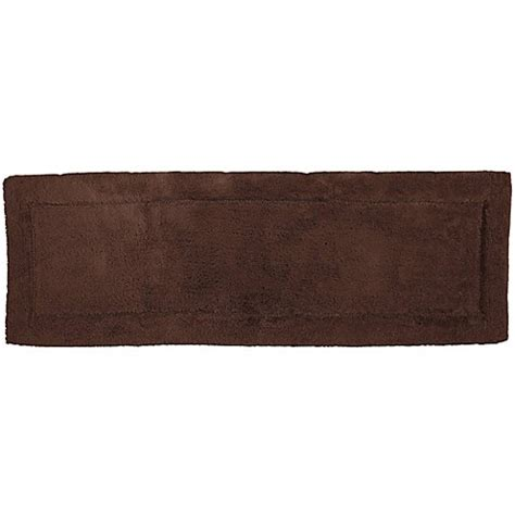 60 Inch Bath Rug Buy Hygrosoft By Welspun 21 Inch X 60 Inch Bath Rug In Java From Bed Bath Beyond