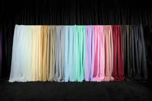 60 In Wide Curtains Event Draping Wedding Backdrop Curtains Event D 233 Cor Direct