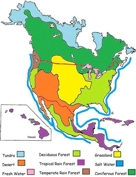 biome map of america biomes of america biome adventure travel the
