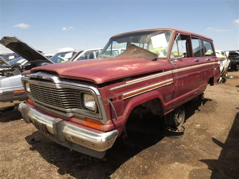 1981 Jeep Wagoneer Junkyard Find 1981 Jeep Wagoneer The About Cars