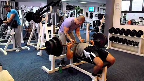 average nfl bench press bench press 170 kg youtube