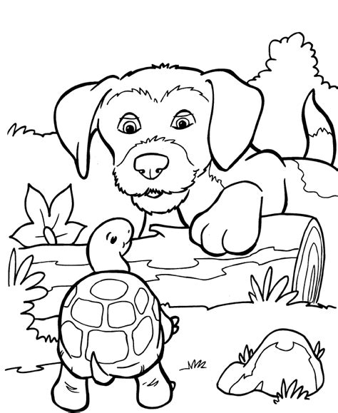 free coloring pages of tiger from kipper the dog