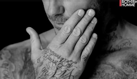david beckham tattoo palm david beckham adds i love you and do it afraid tattoos