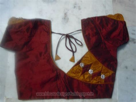 Cutting Of Saree Blouse Stitching by Saree Blouse Collections Blouse Designs
