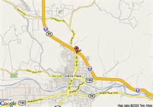 map of 8 grants pass grants pass
