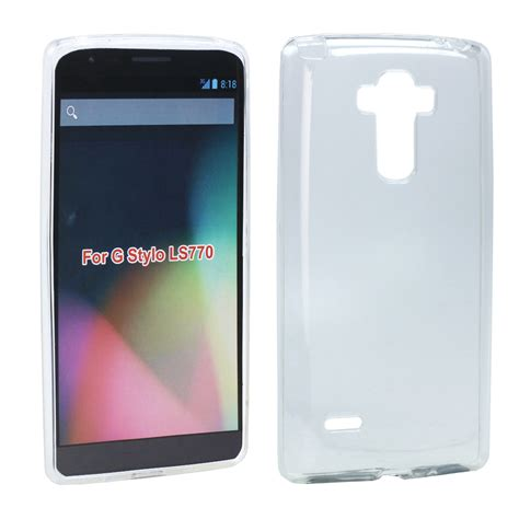 Transparent Silicone Soft Gel For Lg G4 wholesale lg g stylo g4 stylus ls770 tpu gel soft clear