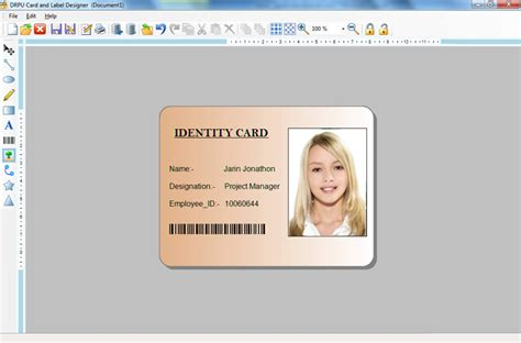 free printable id card maker create labels product sticker asset tags flyers leaflets