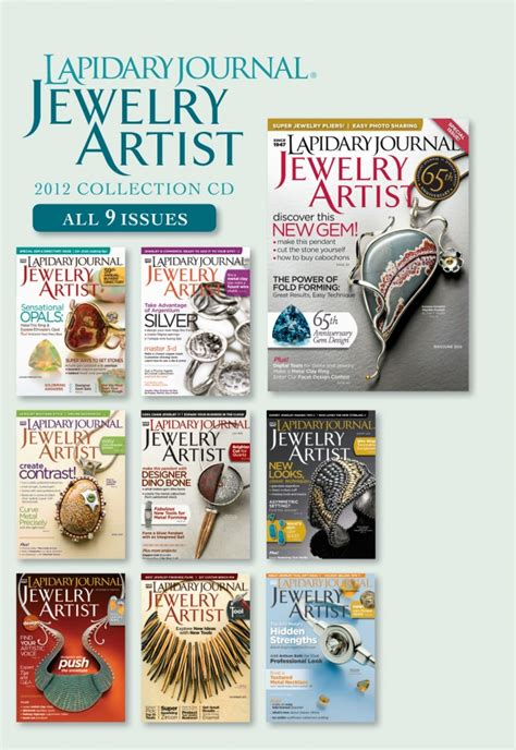 jewelry journal lapidary journal jewelry artist 2012 collection
