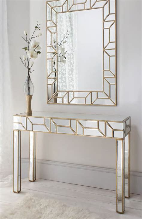 console table and mirror we are pleased to introduce an exquisite console table and
