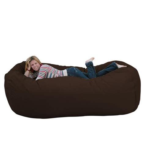 bean bag chair large 8 foot cozy sack premium foam filled