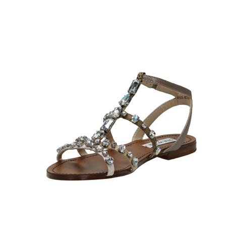 Steve Madden Rhinestone Sandals by Steve Madden Bjeweled Rhinestone Sandals Aversashoes