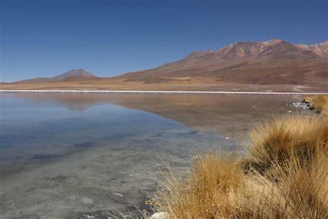 bolivie bolivia altiplano salar de chiguana laguna