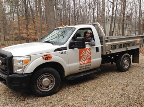 home depot rent a truck on shop homedepot car